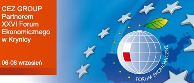 Grupa CEZ partnerem Forum Ekonomicznego w Krynicy